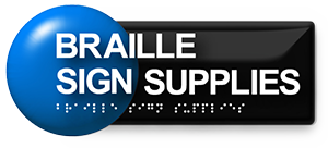 Braille Sign Supplies